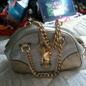 Juicy Couture Moe D chain purse.